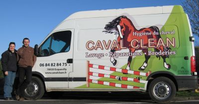 Le camion Caval Clean - zoom...